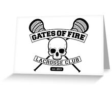 Gates Of Fire Est. 2013 Greeting Card