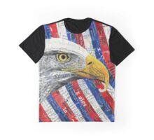 North American Bald Eagle Graphic T-Shirt