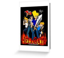 Hell Gate Greeting Card