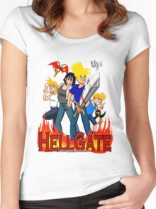 Hell Gate Women's Fitted Scoop T-Shirt