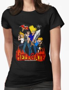 Hell Gate Womens Fitted T-Shirt