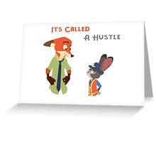 Zootopia Hustle Greeting Card