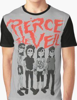 Pierce the Veil - Skeleton Band Graphic T-Shirt
