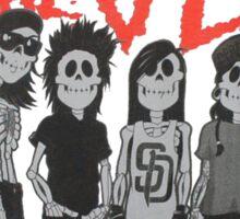 Pierce the Veil - Skeleton Band Sticker