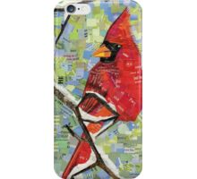 Majestic Red Cardinal iPhone Case/Skin