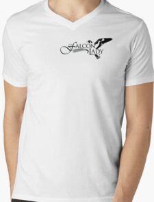 """Official """"The Falconlady"""" swag! Mens V-Neck T-Shirt"""