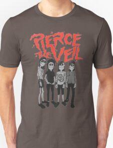 Pierce the Veil - Skeleton Band Unisex T-Shirt