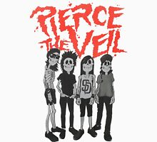 Pierce the Veil - Skeleton Band Men's Baseball ¾ T-Shirt