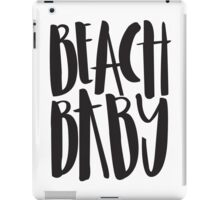 Beach baby iPad Case/Skin