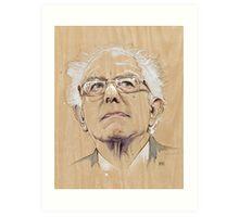 (Wood) Burnie Sanders Art Print