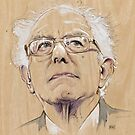 (Wood) Burnie Sanders by Fay Helfer