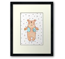 Need a Bear Hug Framed Print