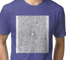 COLOUR ME IN Mandala & floral design Tri-blend T-Shirt
