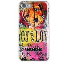 Fur Babies iPhone Case/Skin