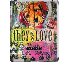 Fur Babies iPad Case/Skin