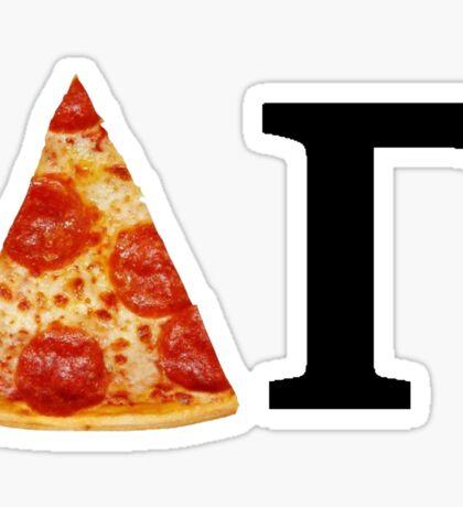 Delta Gamma Pizza Sticker