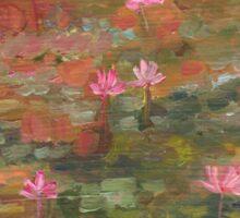 Water Lily Magic Sticker