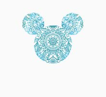 Blue Mickey Head Unisex T-Shirt