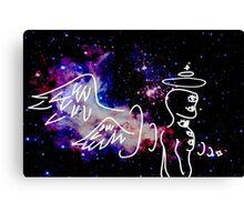 Eldritch Angel Canvas Print