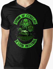 Spawn of Cthulhu Mens V-Neck T-Shirt