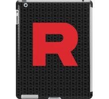 Team Rocker Logo Pokemon Art Kanto Original iPad Case/Skin