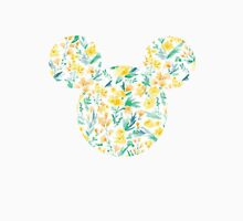 Floral Mickey Head Unisex T-Shirt