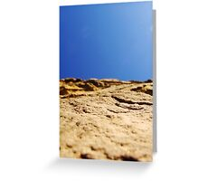 Wall Sideways Greeting Card