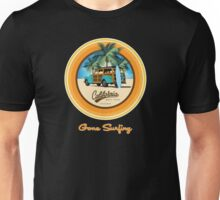 Woody Gone Surfing California Unisex T-Shirt