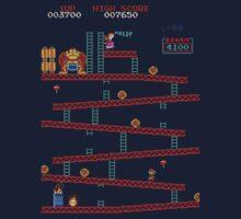 Donkey Kong Arcade One Piece - Long Sleeve