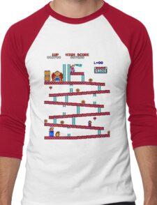 Donkey Kong Arcade Men's Baseball ¾ T-Shirt