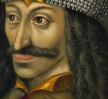 Vlad the Impaler Portrait Sticker