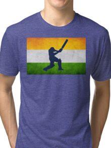 Indian Cricket Tri-blend T-Shirt