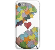 Pint Size Planet (Puzzle) iPhone Case/Skin