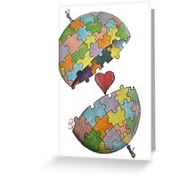 Pint Size Planet (Puzzle) Greeting Card