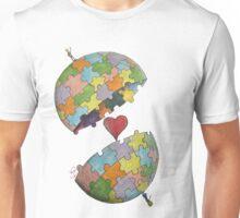 Pint Size Planet (Puzzle) Unisex T-Shirt