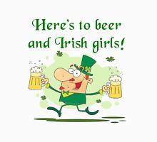 Leprechaun Irish Girls and Beer Unisex T-Shirt