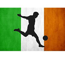 Irish Soccer Photographic Print