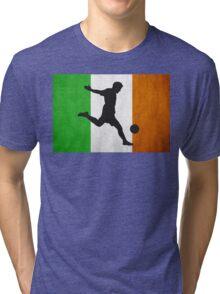 Irish Soccer Tri-blend T-Shirt