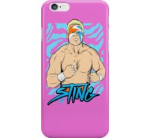 WWE Retro Sting iPhone Case/Skin