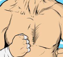 WWE Retro Sting Sticker