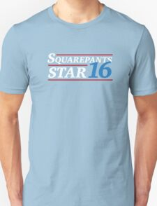 Election 2016 -Squarepants & Star Unisex T-Shirt