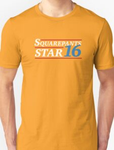 Election 2016 -Squarepants & Star Unisex T-Shirt