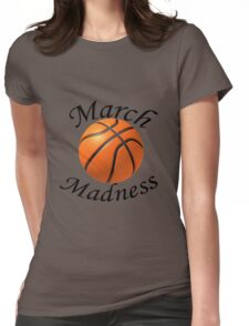 March Madness Womens Fitted T-Shirt