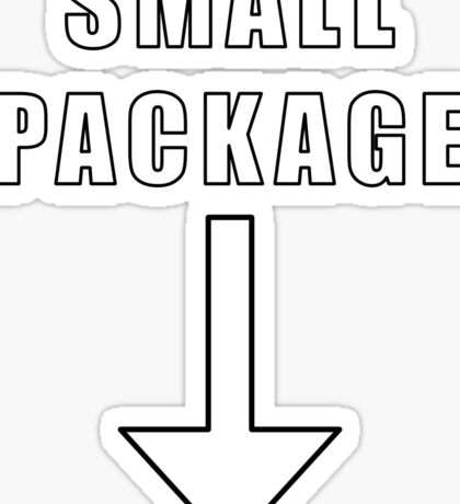Small Package Sticker