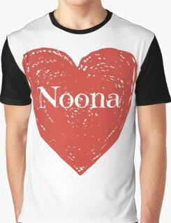 Noona Heart Graphic T-Shirt