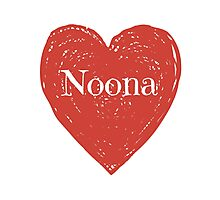 Noona Heart Photographic Print
