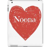 Noona Heart iPad Case/Skin