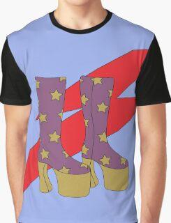 Glam Rock Rebel Graphic T-Shirt