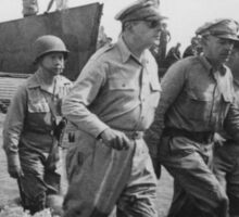 General MacArthur returns to the Philippines Sticker