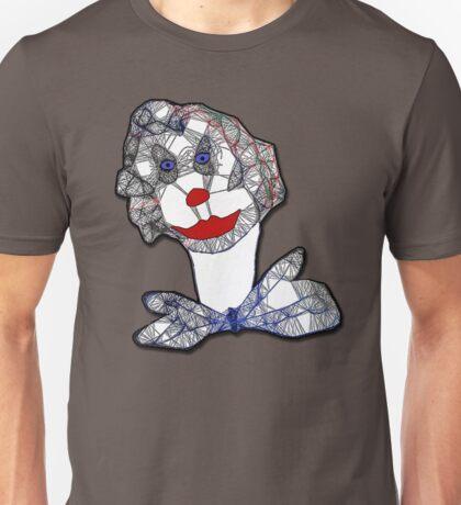 Clown Portrait Unisex T-Shirt